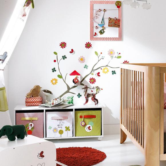 Buenas ideas para las paredes infantiles foto - Ideas para decorar habitaciones infantiles ...
