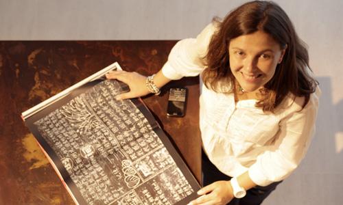 """Esther Sánchez Lastra: """"En la cocina, puedes colocar papeles vinílicos de gran gramaje y calidad que te permitirán fregarlos hasta con lejía"""""""