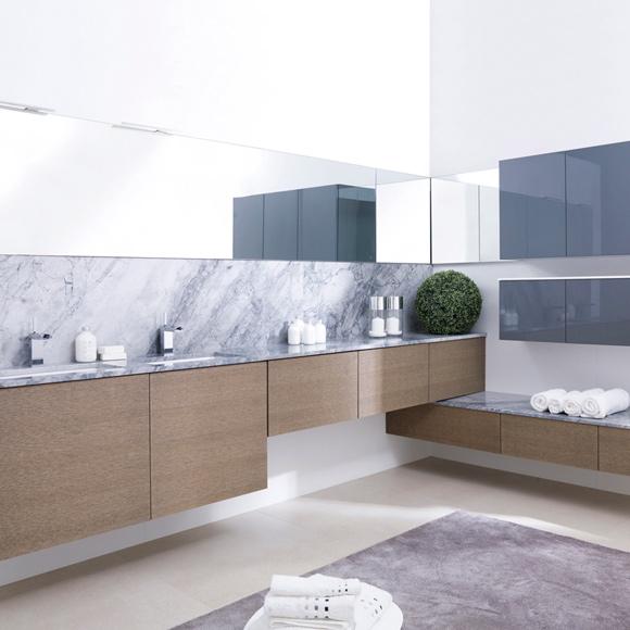 Muebles De Baño Taberner:Next es la nueva colección de muebles de baño y se caracteriza por