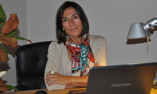 """Macarena Barcia: """"El papel pintado está de plena actualidad y es ideal para crear espacios personales"""