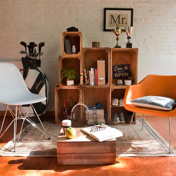 Se lleva el estilo industrial for Muebles de estilo industrial barato