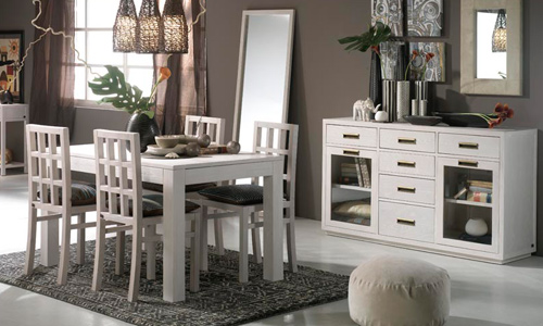 Decoraci n en blanco una apuesta segura - Decorar un mueble de salon ...