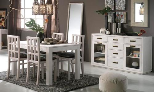 Decoraci n en blanco una apuesta segura for Combinar muebles en color cerezo y blanco