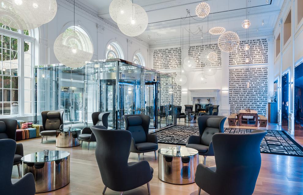 Dos hoteles para los amantes de la arquitectura y el for Diseno de interiores hoteles