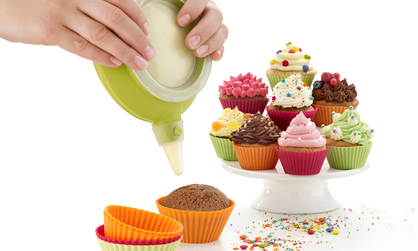 ¡Que no te falte nada para elaborar un cupcake!