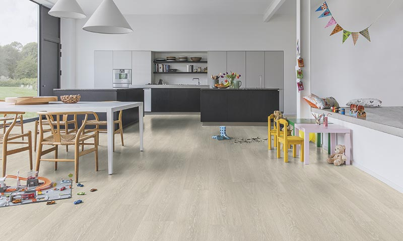 Cocinas santos suelo madera - Suelo laminado para cocina ...