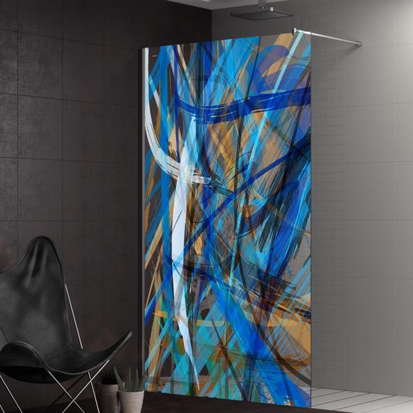 Mamparas color estilo y buen gusto para el cuarto de - Mamparas de bano coruna ...