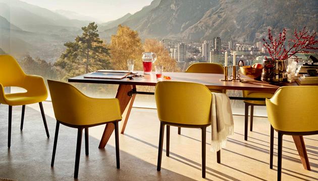 Mesas y sillas dise241os pr225cticos y muy bonitos : Comedor 1 z from www.hola.com size 630 x 360 jpeg 114kB