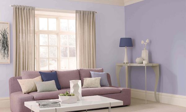 Colorea tus paredes de primavera - Que colores combinan con el lila ...