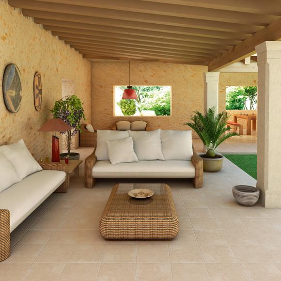 Encuentra el suelo de exterior que te conviene foto - Suelos de exterior antideslizantes ...