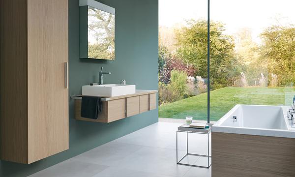 Los lavabos suspendidos nueva tendencia decorativa para - Armarios cuartos de bano ...