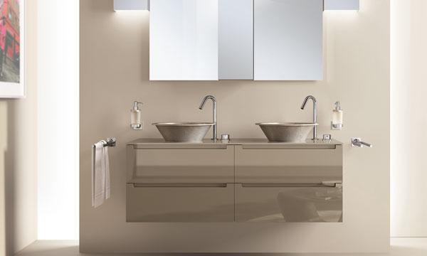 Los lavabos suspendidos nueva tendencia decorativa para El mueble cuartos de bano
