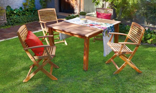 Anímate a montar un comedor en tu jardín o terraza