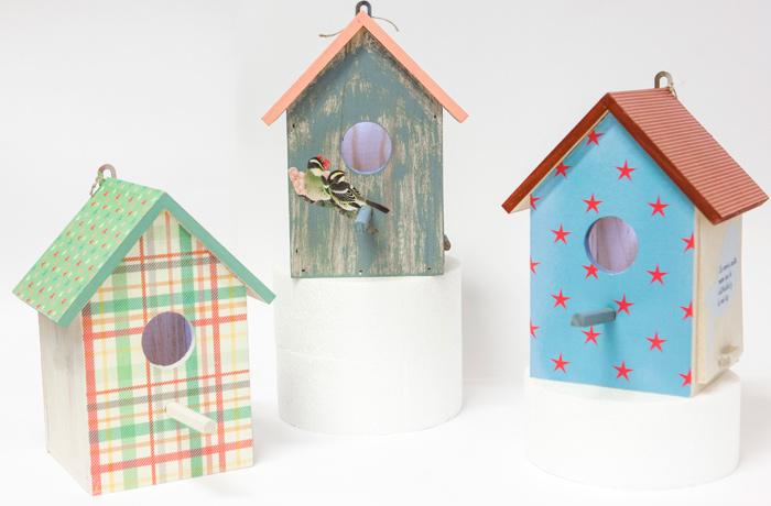Una casa para p jaros el complemento ideal para tu jard n - Casa para pajaros ...