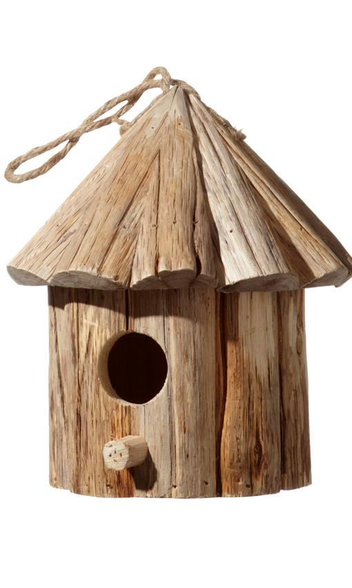 Una casa para p jaros el complemento ideal para tu jard n - Casitas para pajaros jardin ...