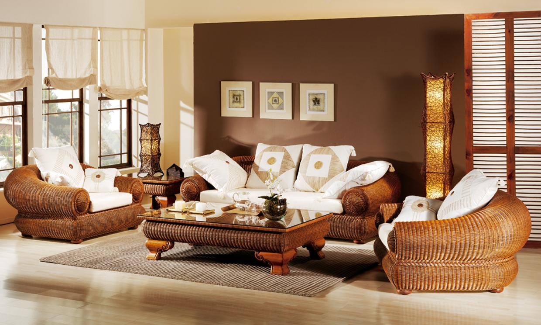En verano, muebles de mimbre - Foto 2 - photo#4