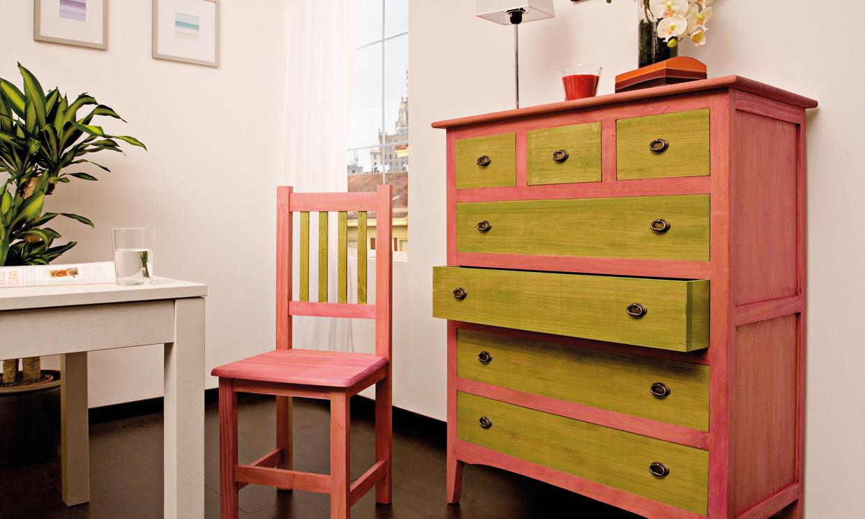 De viejo a vintage paso a paso - Como reciclar muebles ...