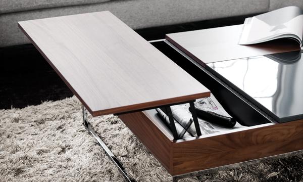 Muebles de doble uso para casas de espacio reducido