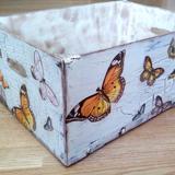 Es el momento de conseguir una preciosa caja en 'decoupage'