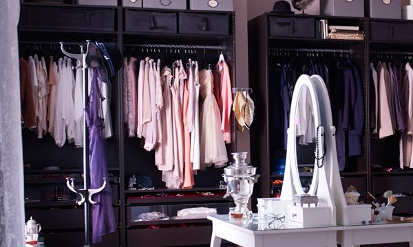 ¿Quieres montar un vestidor en casa?