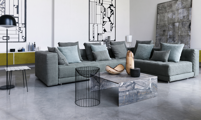 Te mostramos las tendencias en sof s para este oto o for Diseno de muebles modernos tapizados