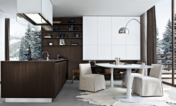 Ideas prácticas para comer —o montar un office— en la cocina