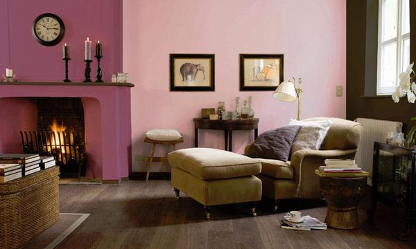 Trucos de decoraci n el arte de pintar las paredes para - Pintar salon pequeno dos colores ...