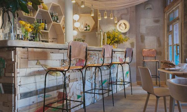 La decoraci n ecol gica y biosaludable se extiende a for Muebles de derribo