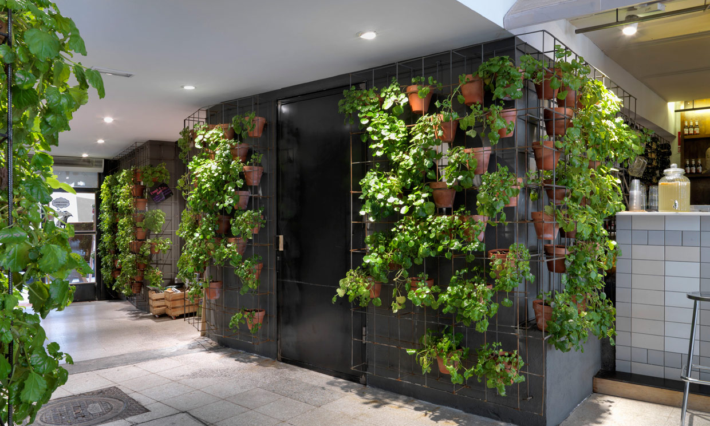 La decoraci n ecol gica y biosaludable se extiende a for Materiales para la construccion de un vivero