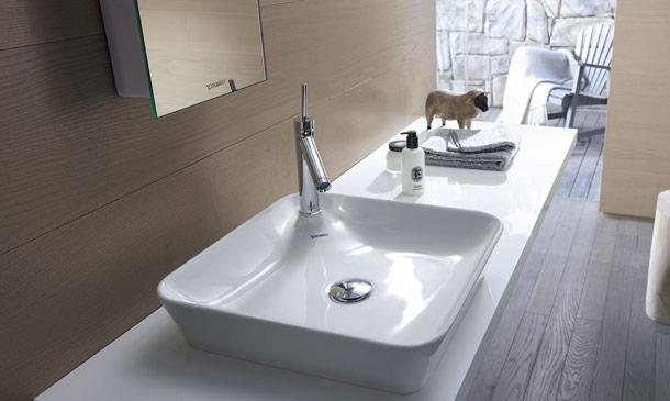 ¡Mira qué bonitos lavabos sobre encimera!