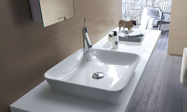 Mira qu bonitos lavabos sobre encimera - Lavabos dobles sobre encimera ...