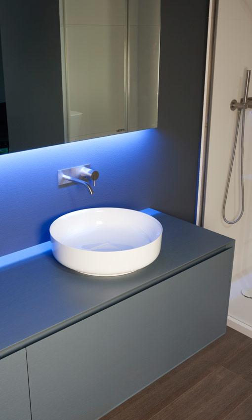 Mira qu bonitos lavabos sobre encimera foto 3 - Lavamanos sobre encimera ...