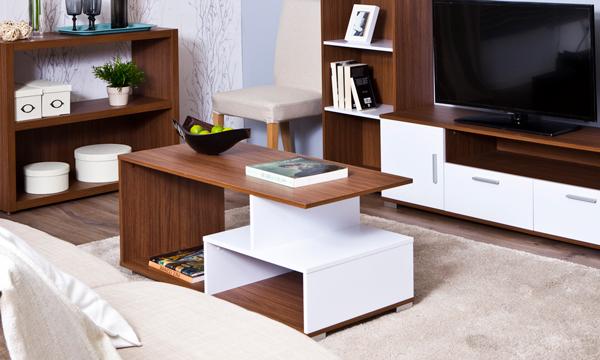 Mesas de centro modernas para sala mesa centro redonda for Utilidad del marmol