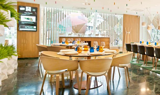 Restaurantes de diseño que 'miran al exterior'