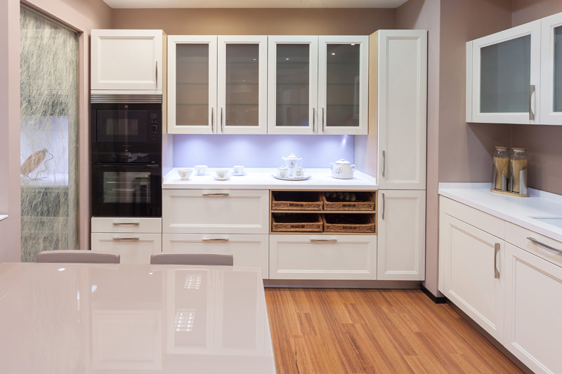 Azulejos ba o mate o brillo - Cocinas blancas brillo ...
