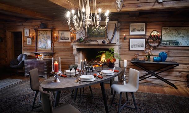 convierte la casa de campo en tu refugio invernal