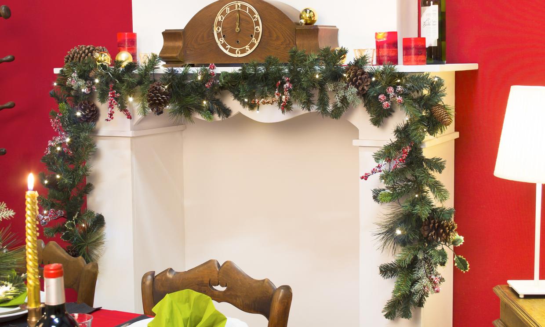 Abetos belenes coronas mil y un detalles para decorar - Como se decora un arbol de navidad ...
