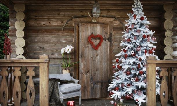 Decorar Exteriores De Casas De Navidad