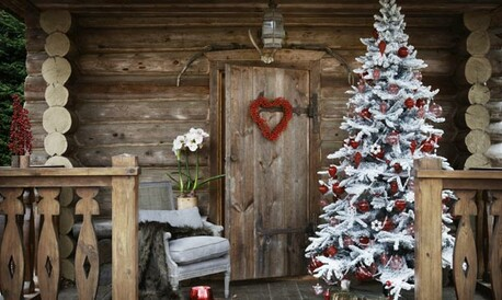 Decorar El Balcon En Navidad.Deja Que La Navidad Se Cuele Tambien En Tu Terraza Balcon O