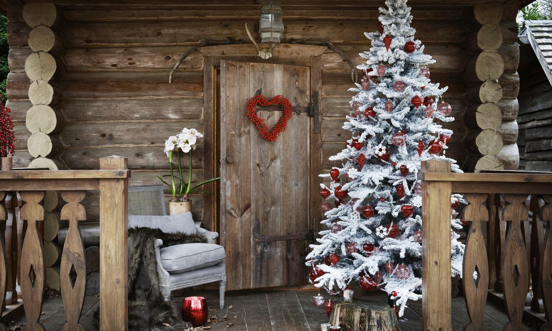 Deja que la navidad se cuele tambi n en tu terraza balc n - Decoracion navidena para jardines ...