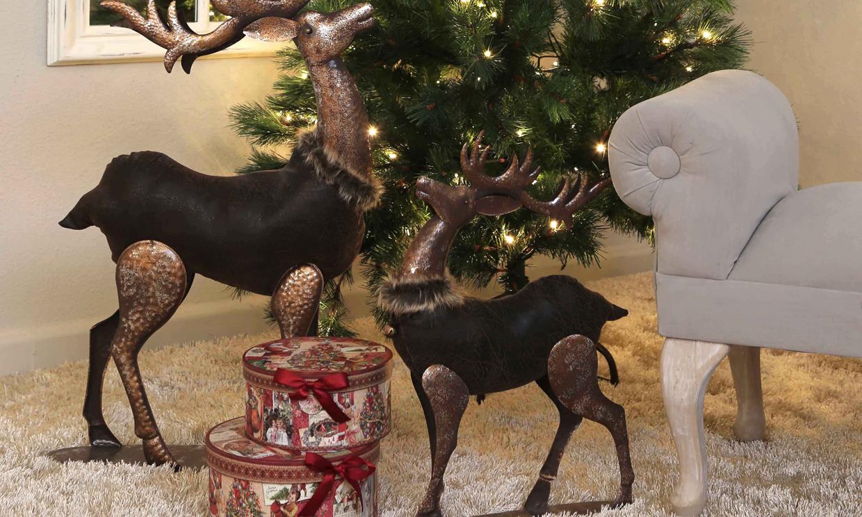 Deja que la navidad se cuele tambi n en tu terraza balc n - Los penotes decoracion ...