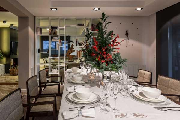 Sentados en torno a la mesa decoraci n y detalles for Cosas decorativas para navidad