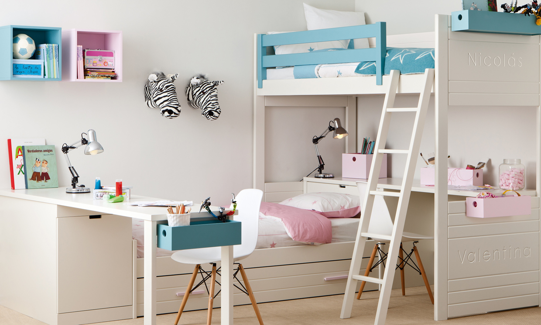 Dormitorios infantiles ideas para una buena distribuci n del espacio foto 5 - Ideas dormitorios infantiles ...