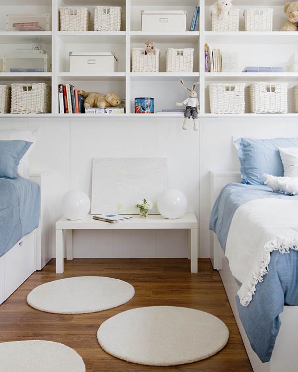 Dormitorios infantiles compatidos ideas para una buena for Muebles de dormitorio infantil