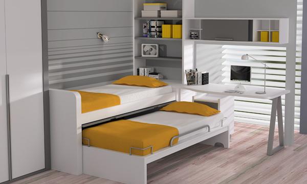 Dormitorios Infantiles Compatidos Ideas Para Una Buena Distribución