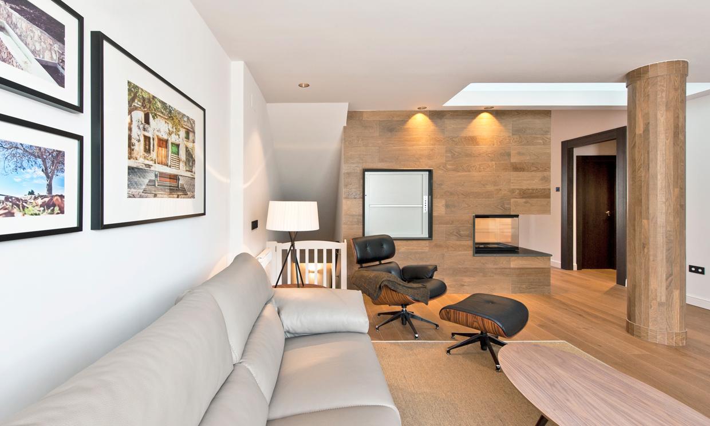 La calidez y naturalidad de la madera material for Imagenes de decoracion de interiores