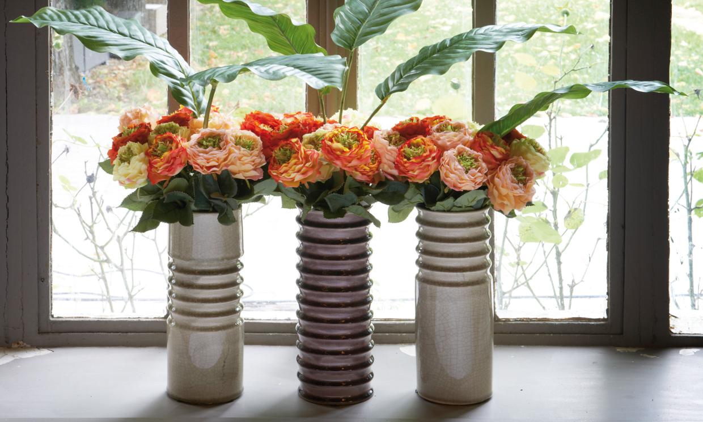 Jarrones El Elemento Decorativo Que No Debes Olvidar Tampoco En - Jarrones-con-flores-secas