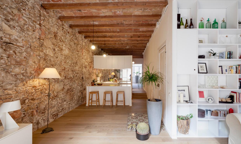 Espíritu de transformación en un piso del barrio de Les Corts de ...