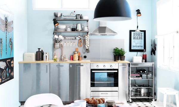 8 trucos para renovar tu cocina sin gastarte mucho dinero for Como amueblar mi cocina