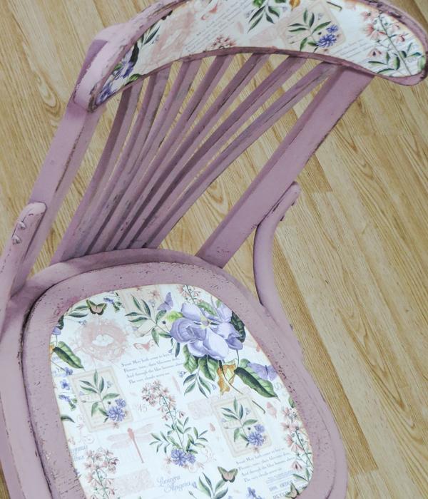 Convertimos una vieja silla en una pieza a la moda - Pintura ala tiza colores ...